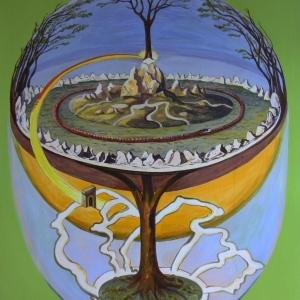 Yggdraszill – világfa a germán és a skandináv mitológiában