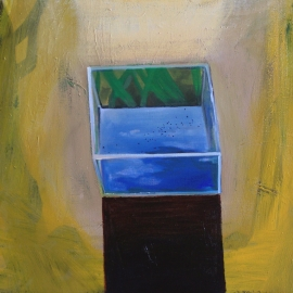 Víz I. (70 x 90 cm, olaj, vászon, 2012)
