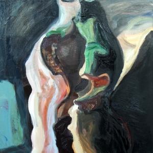 Meghasadtság (70x50cm, olaj, vaszon, 2010, magántulajdon)