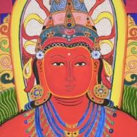 Amitábha Buddha (részlet)