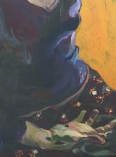 Cím nélkül (50x60cm, olaj, vászon, 2008)