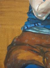 Cím nélkül (40x30cm, olaj, vászon, 2008)