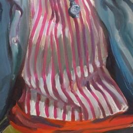 Tükrök sorozat VII. (70x50cm, olaj, vászon, 2008-2009)
