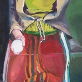 Tükrök sorozat III. (130x100cm, olaj, vászon, 2008)