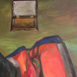 Szférák (130x100cm, olaj, vászon, 2009)