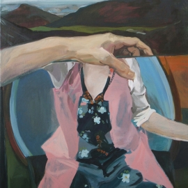 Tükrök sorozat VIII. (130x100cm, olaj, vászon, 2008-2009)