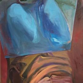 Tükrök sorozat V.  (140x100cm, olaj, vászon, 2008-2009)